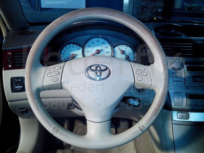 Чем покрасить кожаный руль автомобиля  видео