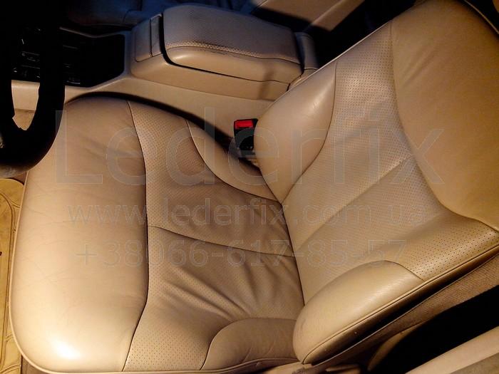 Реставрация кожаных сидений автомобиля своими руками 39
