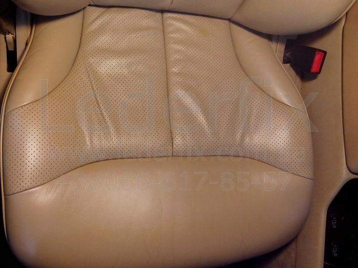 Реставрация кожаных сидений автомобиля своими руками 10