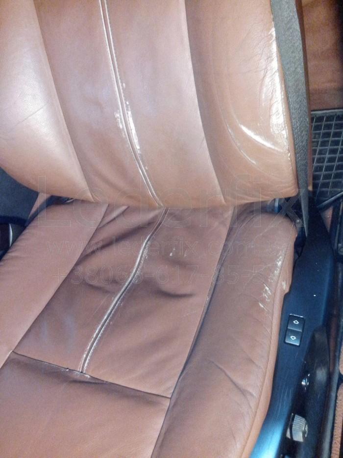 Реставрация кожаных сидений автомобиля своими руками 26